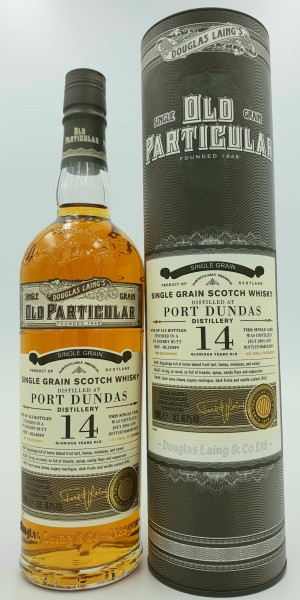 Port Dunas 14 Jahre Old Particular 48,2%vol. Douglas Laing's, Lowland Single Grain 0,7l