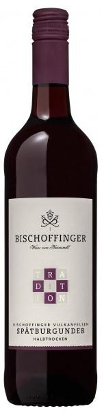 Spätburgunder Rotwein Tradition QbA halbtrocken WG Bischoffingen Kaiserstuhl 0,75 l