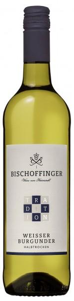 Weißer Burgunder Tradition QbA halbtr. WG Bischoffingen Kaiserstuhl 0,75 l
