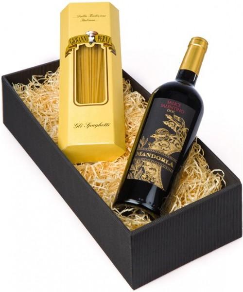 Weinpräsent Mangia e bevi Pasta & Vino