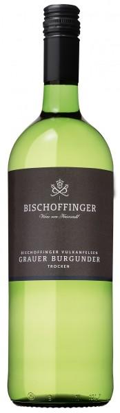 Bischoffinger Grauer Burgunder QbA trocken WG Kaiserstuhl 1,0 l