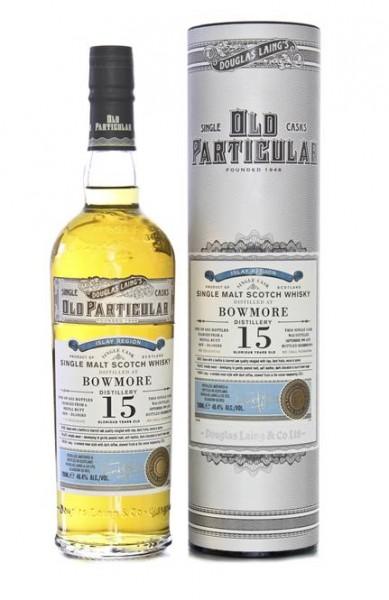 Bowmore 15 YO Old Particular 48,4% vol. Douglas Laing, Islay Single Malt 0,7 l
