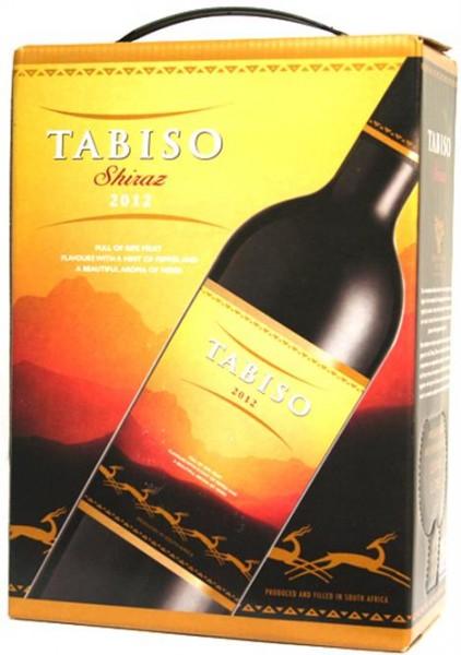 Tabiso Shiraz 3,00 l BAG-IN-BOX Western Cape / Südafrika - Rotwein