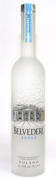 Belvedere Vodka 40% vol. Aus Polen 0,7 l
