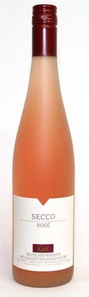 Secco Rosé trocken Perlwein Keth Rheinhessen 0,75 l