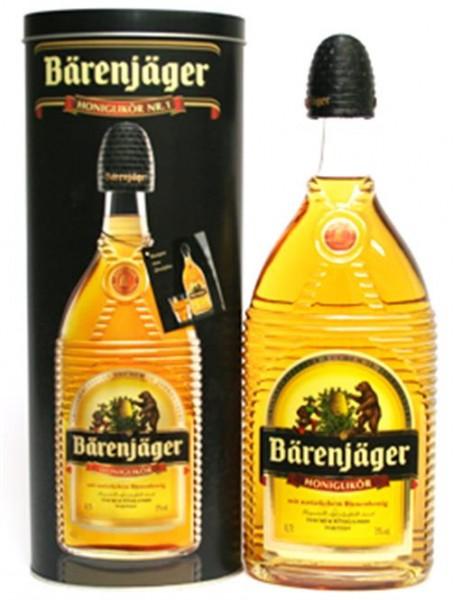 Bärenjäger-Original Bärenfang 35% vol. Honiglikör 0,7 l