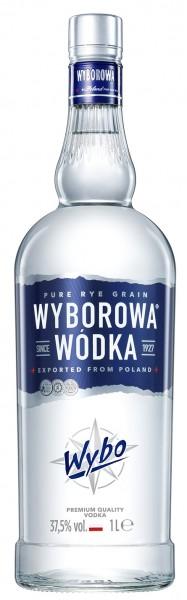Wyborowa 37,5% vol. Polnischer Wodka 1,0 l