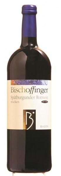 Spätburgunder Rotwein QbA trocken WG Bischoffingen Kaiserstuhl 1,0 l