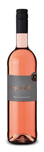 """Julius Zotz ENJOY LIFE """"Einfach lebendig Wein"""" Rosè feinherb Markgräflerland Baden 0,75l"""