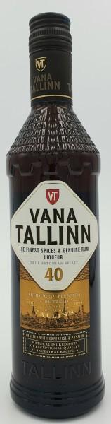 Vana Tallin 40% vol. Der Rumlikör aus Estland. 0,5l