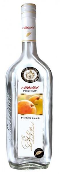 Scheibel Mirabellen-Brand Premium 0,7 l 43% vol.3 J.gelagert.2-fach destilliert