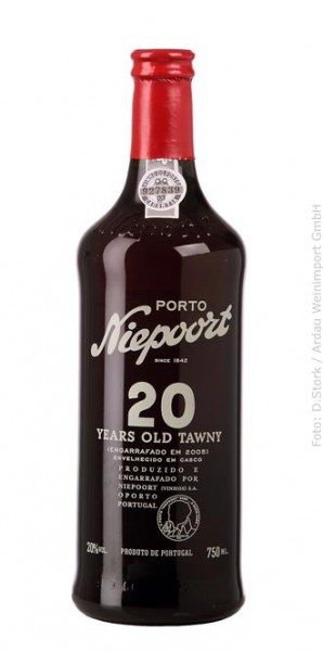 Niepoort Tawny 20 Years Old, Portwein DOC Douro, 0,75 l