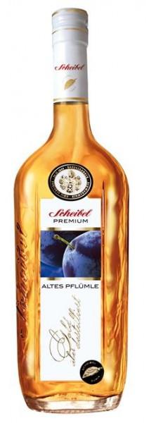 Scheibel Alter Pflümle Br. Premium 0,7 l 43% vol.2 J.gelagert.2-fach destilliert