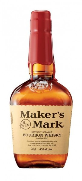 Maker's Mark 45% vol. Kentucky Straight Bourbon Whiskey 0,7 l