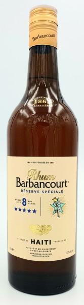 Barbancourt 5 Sterne Rhum Agricole 8 Jahre 43% vol. 0,7l