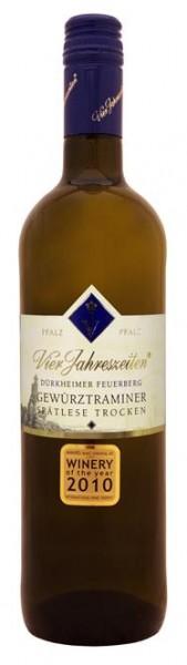 Gewürztraminer Dürkheimer Feuerberg Spätlese trocken V. Jahres. Pfalz 0,75 l