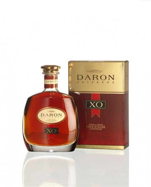 Calvados DARON XO 40% vol. Karaffe Calvados Extra Old 0,7 l