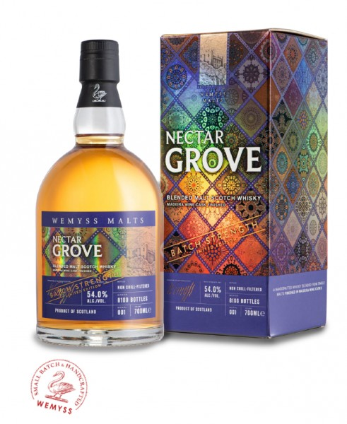 Nectar Grove Wemyss blended Malt 54% vol. - Batch Steght limited Edition - 0,7l