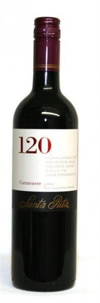 Santa Rita 120 Carmenere trocken Central Valley Chile 0,75 l