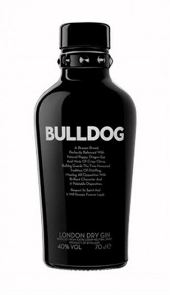 Bulldog Gin 40% vol. London Dry Gin 0,7 l