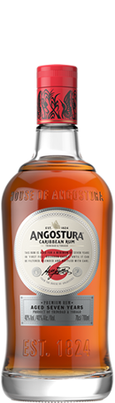 ANGOSTURA Dark Rum 7 Jahre 40% vol. From Trinidad & Tobago 0,7 l