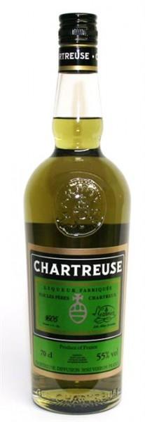 Chartreuse Liqueur grün 55% vol. aus Frankreich 0,7 l