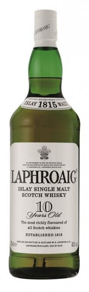 Laphroaig Islay 10 Jahre 40% vol. Single Malt Whisky 0,7 l