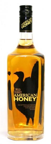 Wild Turkey American Honey 35,5% vol., Bourbon Whiskey 1,0 l