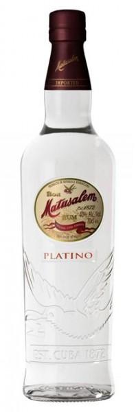 Matusalem Ron Platino 40% Vol. White Rum, Doninikanische Republik 0,7 l