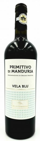 Primitivo di Manduria Vela Blue DOP 0,75 l