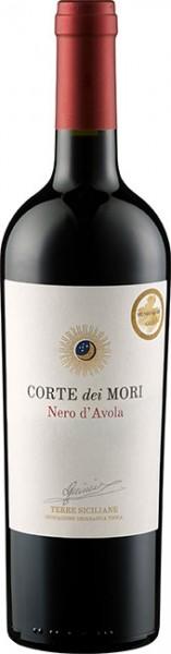 Corte dei Mori Nero d´Avola Etichetta Bianca IGT Sicilia 0,75 l