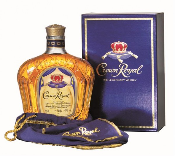 Crown Royal 40% vol. Canadian Whisky 0,7 l