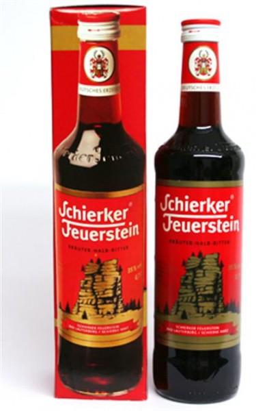 Schierker Feuerstein 35% vol. Kräuterhalbbitter 0,7 l