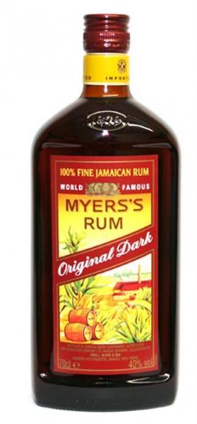 Myers's Rum Original Dark 40% vol. 100% Jamaika Rum, 0,7 l