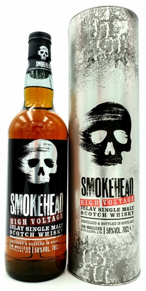 "Smokehead ""High Voltage"" 58% vol. Scotch Islay Malt Whisky 0,7l"