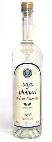 Ouzo Plomari 40% vol. Griech.Aperitiv mit Anis 0,7 l
