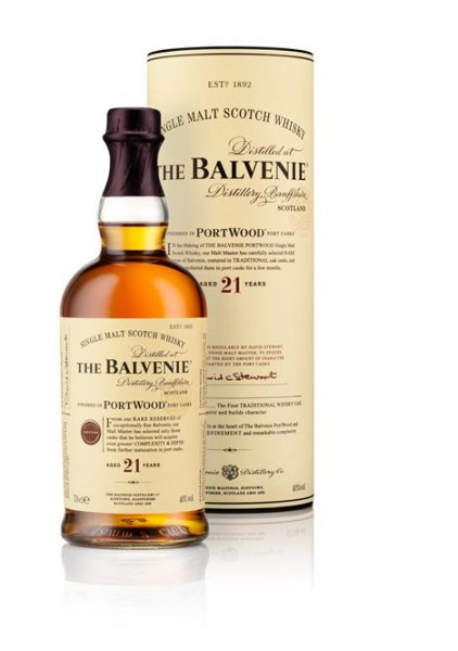 Balvenie 21 Years Old 40% vol. Port Wood - Highland Single Malt, 0,7 l
