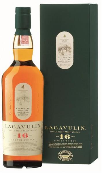 Lagavulin 16 Jahre 43% vol. Single Islay Malt 0,7 l