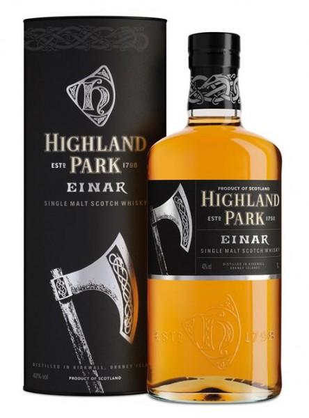 """Highland Park """"Einar"""" Orkney Highland Malt 40% vol. 1,0 l"""
