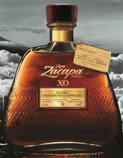 Ron Zacapa Edition XO 40% vol. 25 Jahre Solera Rum aus Guatemala 0,7 l