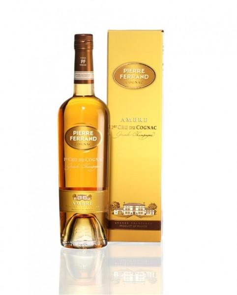 Cognac Pierre Ferrand Ambre Grande Champagne 40% Vol. 0,7 l