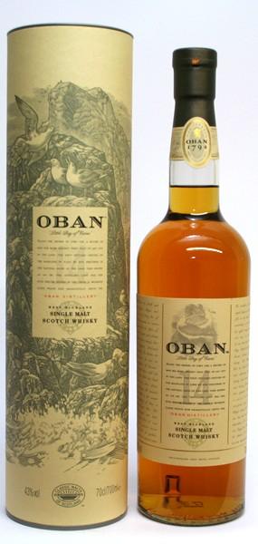 Oban 14 Jahre 43% vol. West Highland Single Malt 0,7 l