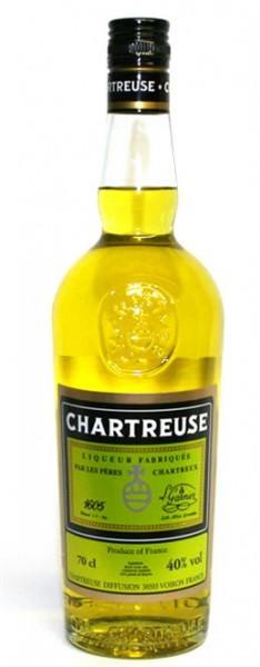 Chartreuse Liqueur gelb 40% vol. aus Frankreich 0,7 l