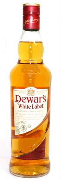 Dewar's White Label 40% vol. Finest Scotch Whisky 0,7 l