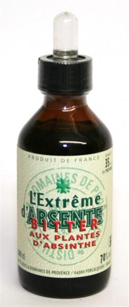 Extreme d'Absente 70% vol., 0,1 l Bitter aux plantes d'Absinth m.Pipette