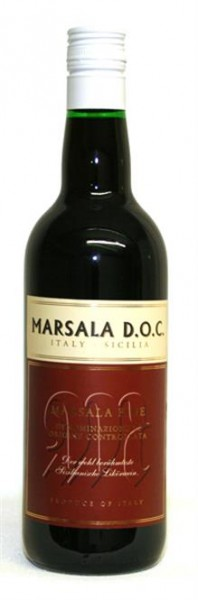 Marsala Fine Doc 17% vol. sizilanische Süßweinspezialität 0,75 l