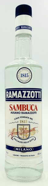 Ramazotti Sambuca 38% vol. 0,7 l Italienischer Anislikör