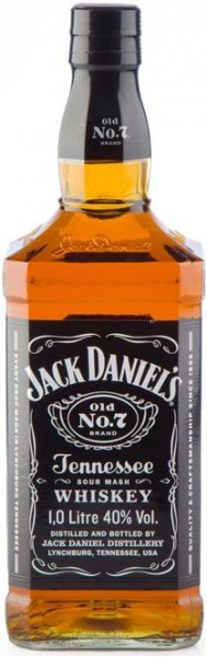 Jack Daniel's No. 7 40% vol. Tennessee Whiskey 1,0 l