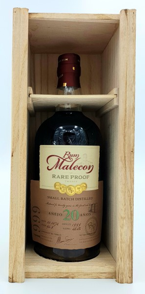 Malecon Rare Proof 20 Jahre 48,4% vol. Rum aus Panama 0,7 l