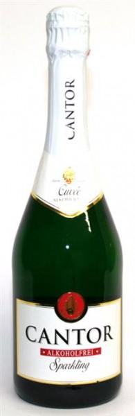 Cantor Sekt alkoholfrei mild 0,75 l